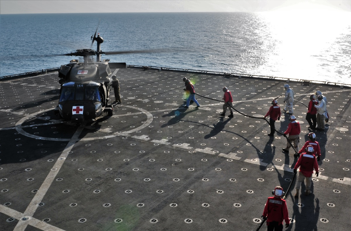 UH-60 Deck Qualifications