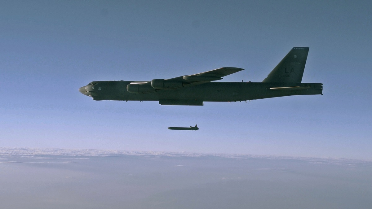 B-52H Launching an AGM-86B