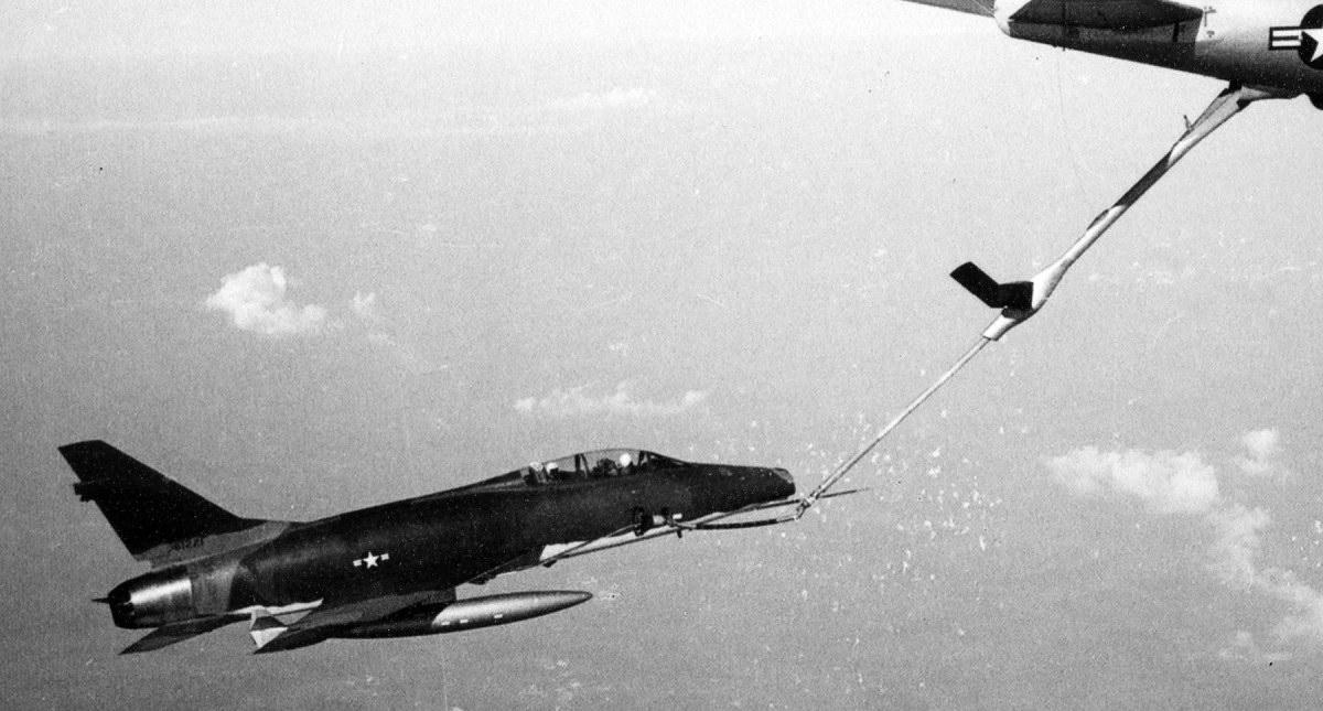 """Legendary fighter pilot Francis """"Gabby"""" Gabreski was one of the firsts to test the F-100 aerial refueling capability, but he preferred to attack a squadron of Fw-190s alone in a P-47. Here's why."""