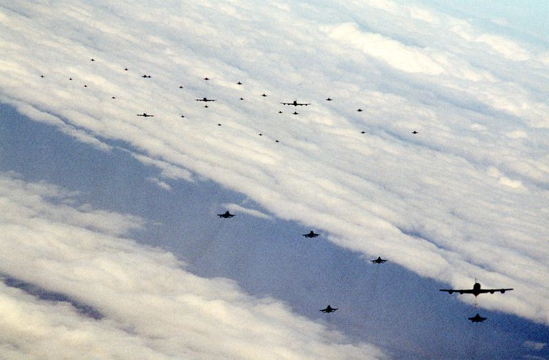 The Incredible Story of the KC-135 Flight that Flew Close to Iraq to Refuel F-4G Wild Weasels the First Night of Operation Desert Storm