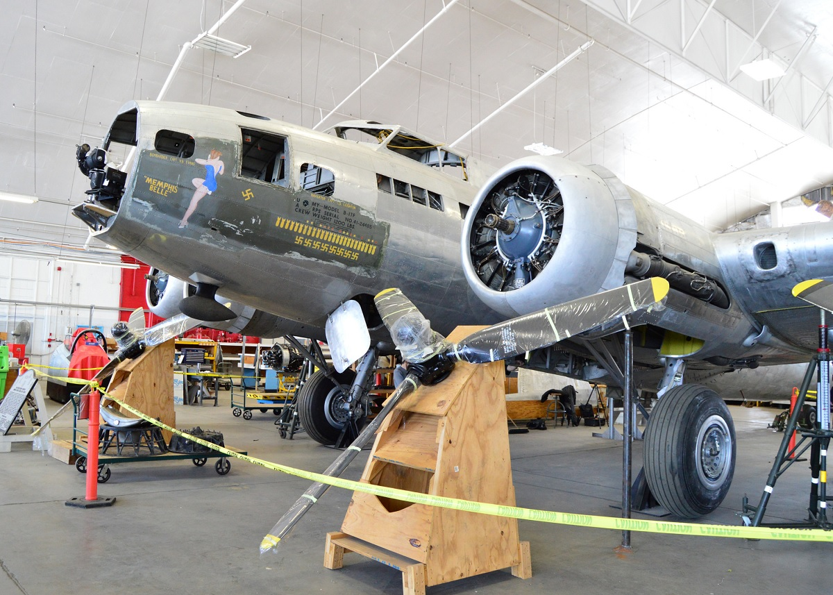 Legendary B 17f Memphis Belle To Be Placed On Public