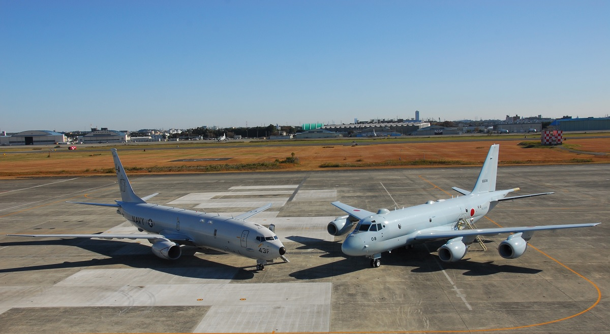 U.S. NAVY P-8As CONDUCT JOINT ASW EXERCISE WITH JAPANESE MARITIME SELF DEFENSE FORCE P-1s