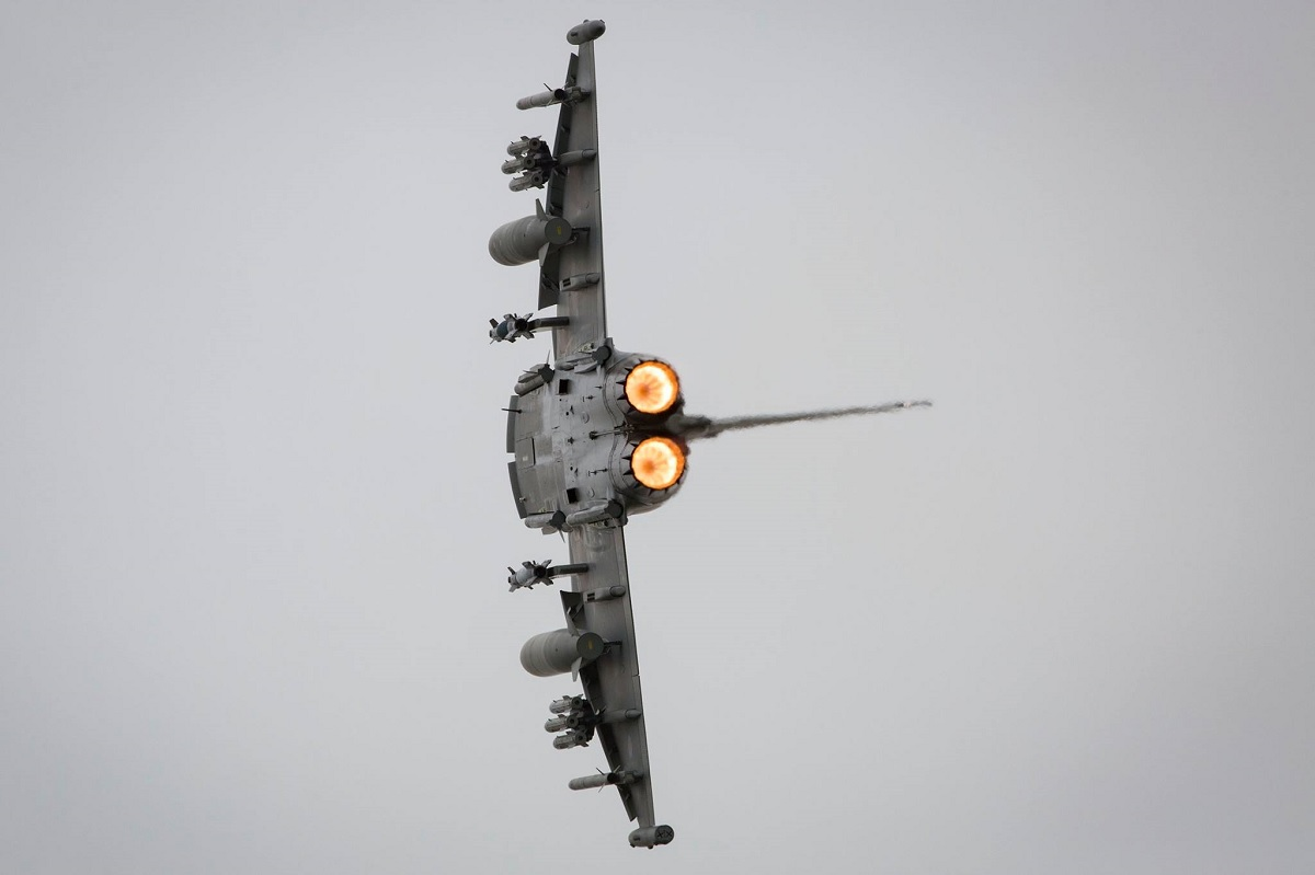 RAF Typhoon fighter jet