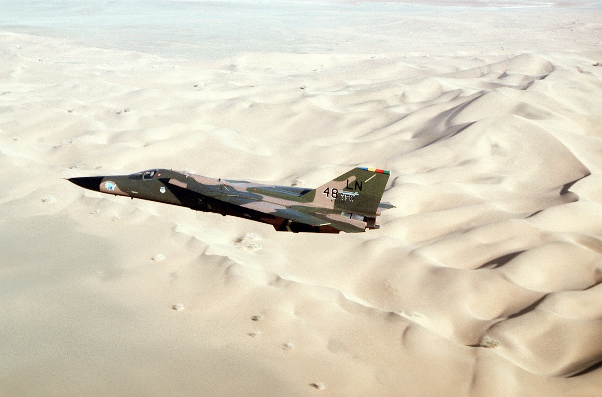 Here's how USAF F-111 Strike Aircraft were able to Defend themselves against Iraqi Fighter Threat during Operation Desert Storm