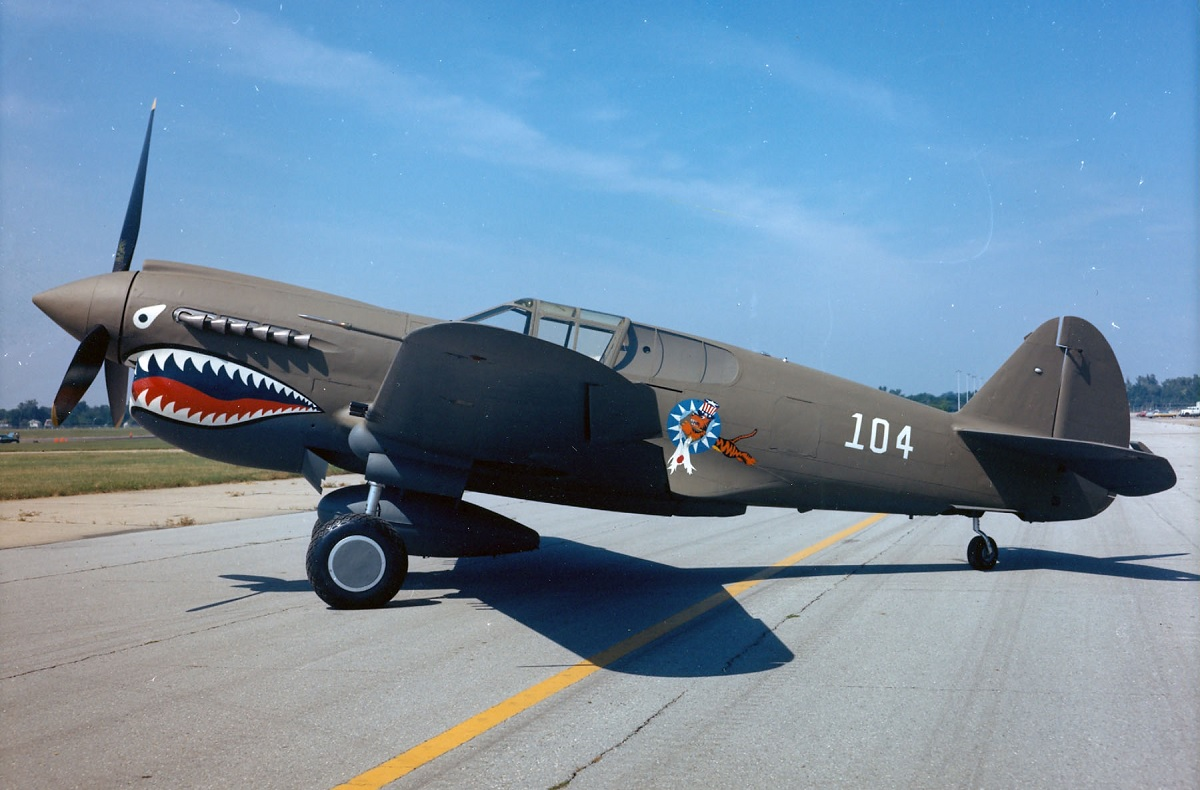 How a Luftwaffe Sharkmouthed Me-110 inspired Flying Tigers' legendary tiger mouth insignia