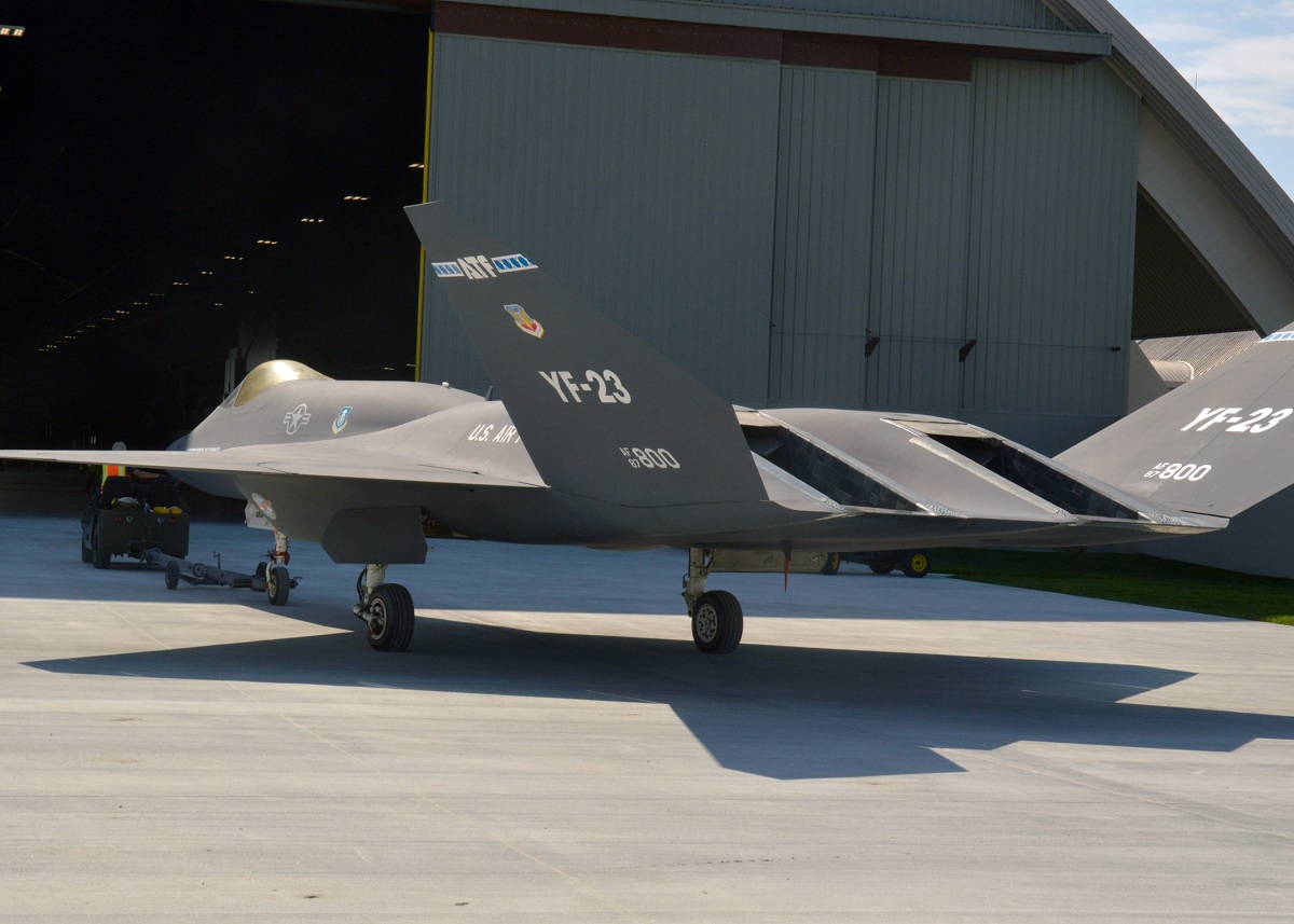 THE NORTHROP YF-23 BLACK WIDOW II: THE SUPER FIGHTER THAT USAF REJECTED IN FAVOR OF THE LESS ...