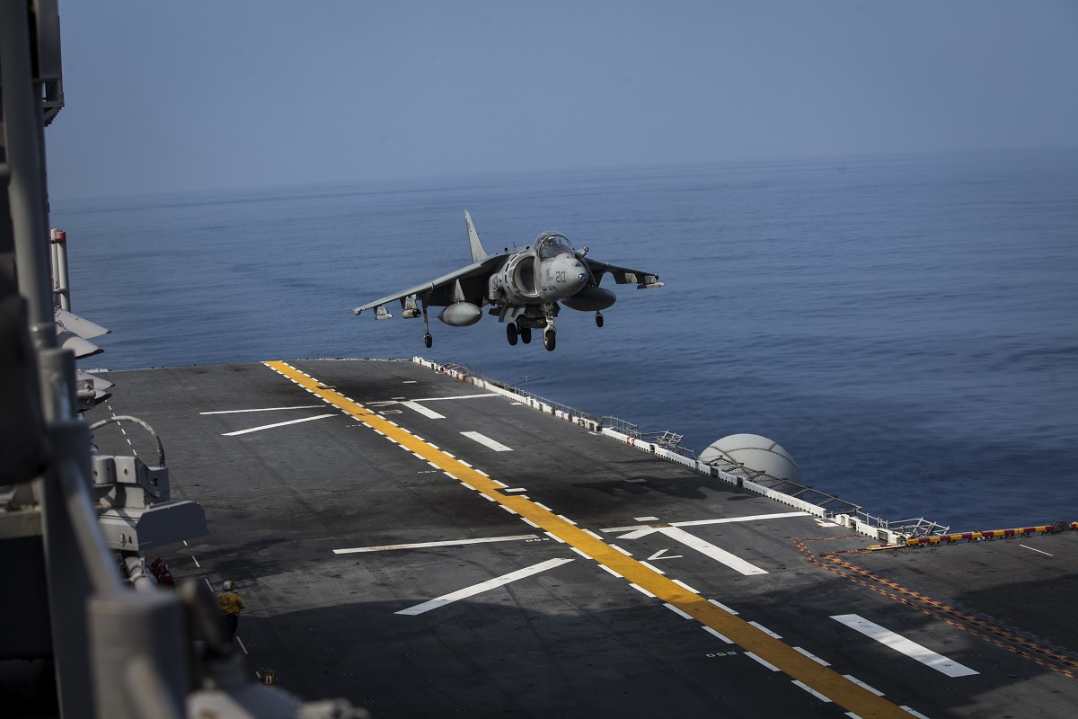 31st MEU bids farewell to AV-8B