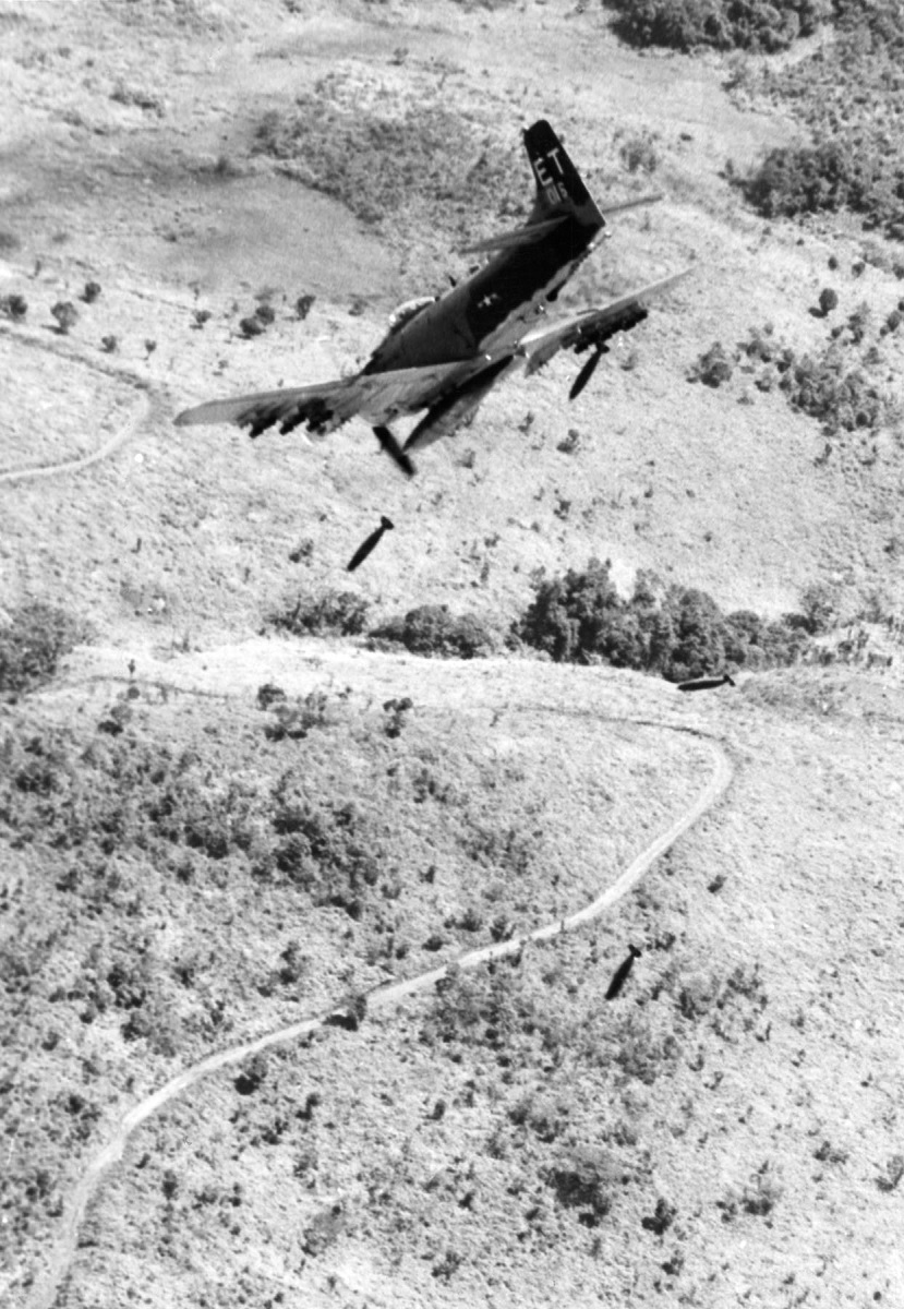 """The first CSAR missions and the story of how the A-1 Skyraider became known as """"Sandy"""""""