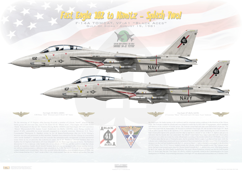 Monument will honor US Navy's F-14 fighter and the 68 Naval Aviators who lost their lives flying the mighty Tomcat
