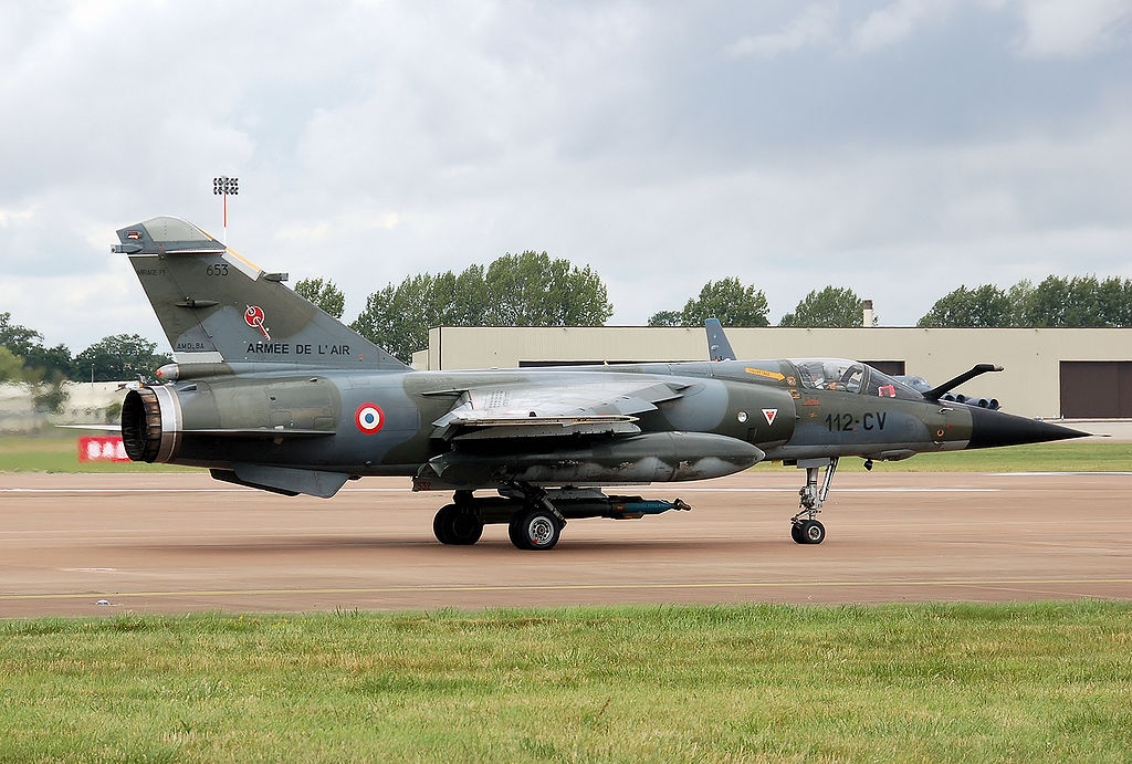 ATAC has bought 63 Mirage F1s