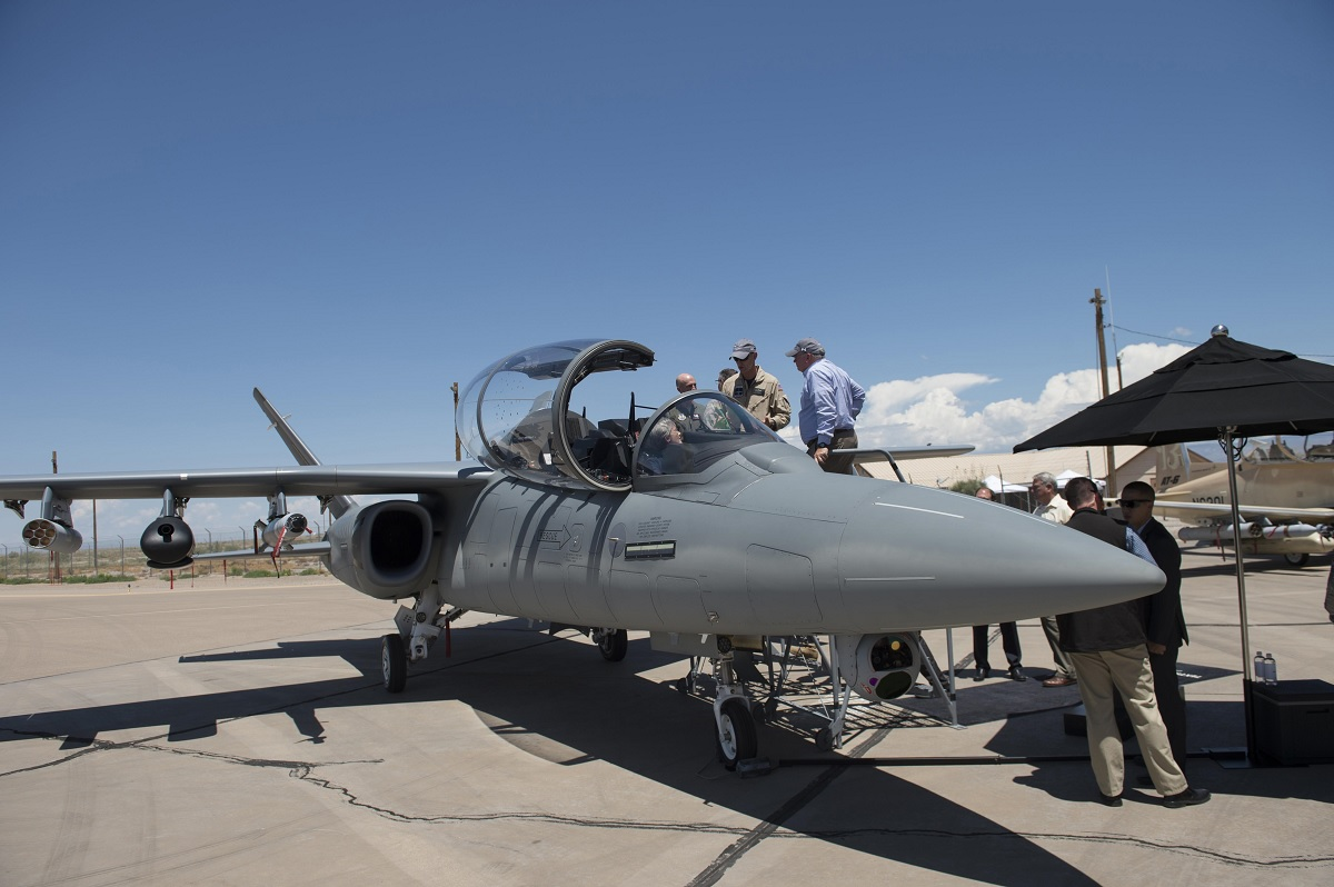 Scorpion Jet at OA-X competition, Hollomand AFB