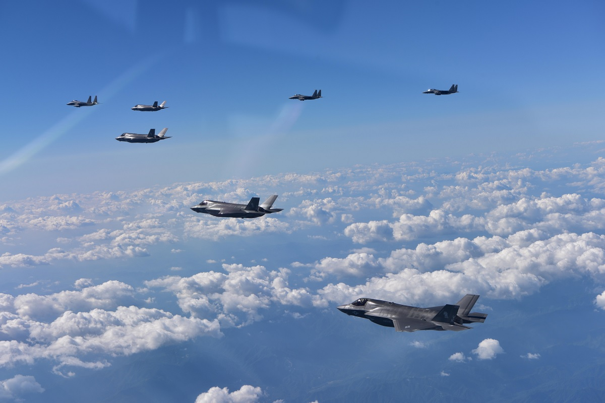 F-22 and F-35 rotational deployment to South Korea