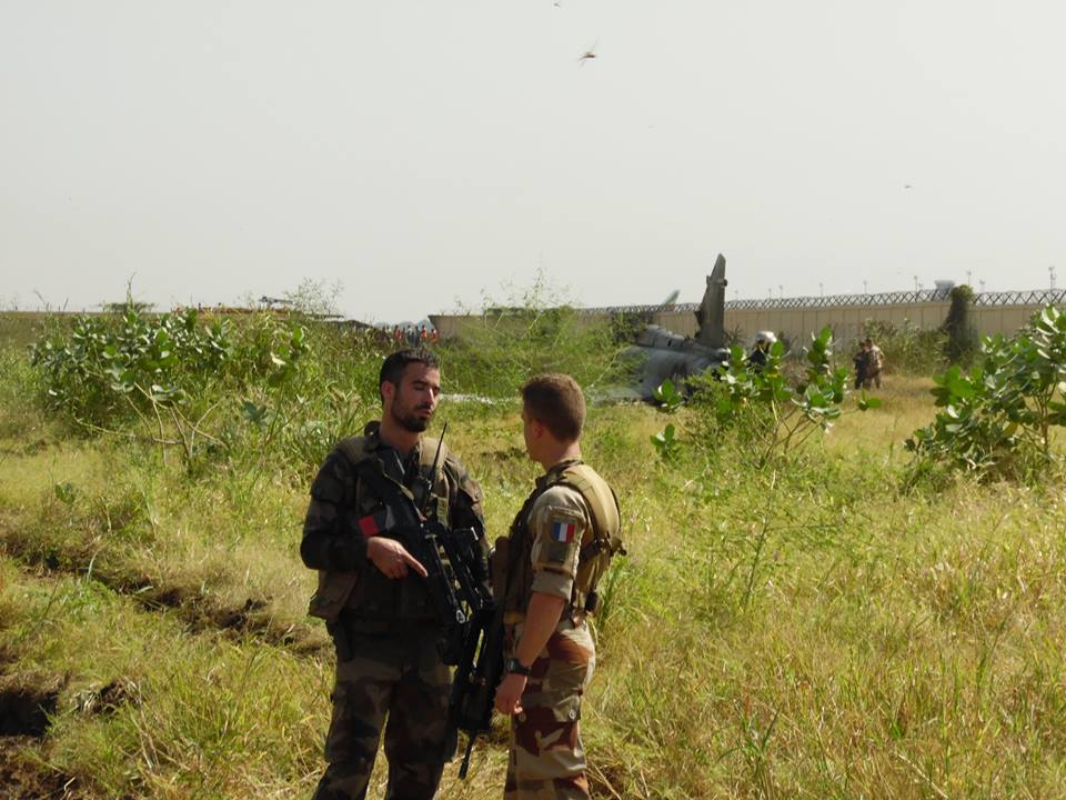 French Air Force Mirage 2000N fighter bomber crashes in Chad