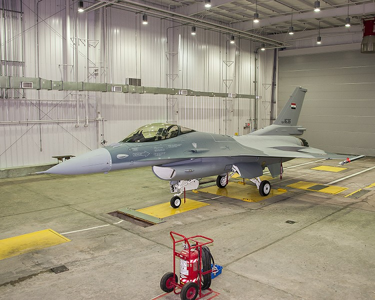 Last F-16 ever to be produced at Fort Worth