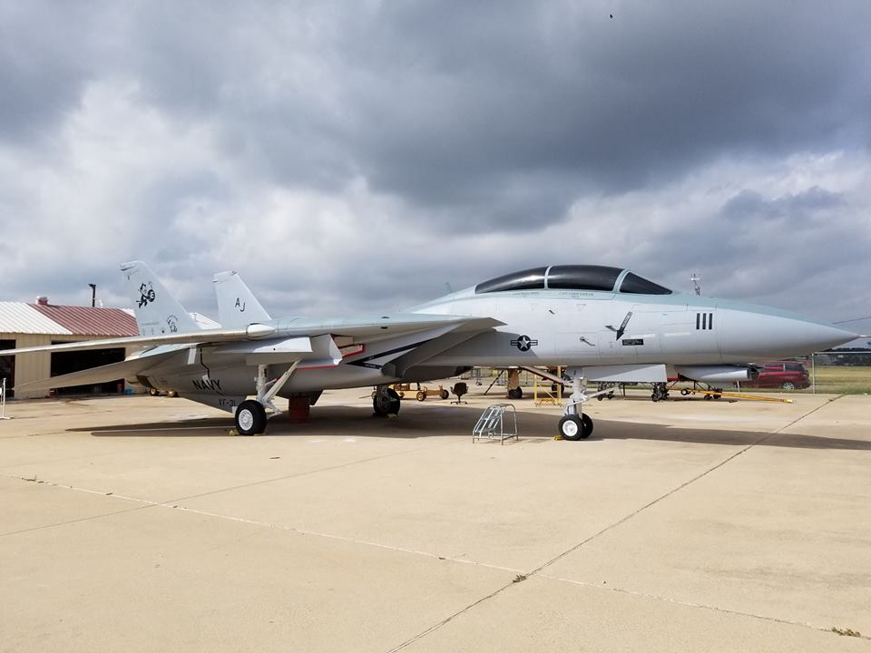 The story of Christine, the longest serving F-14 Tomcat in the U.S. Navy