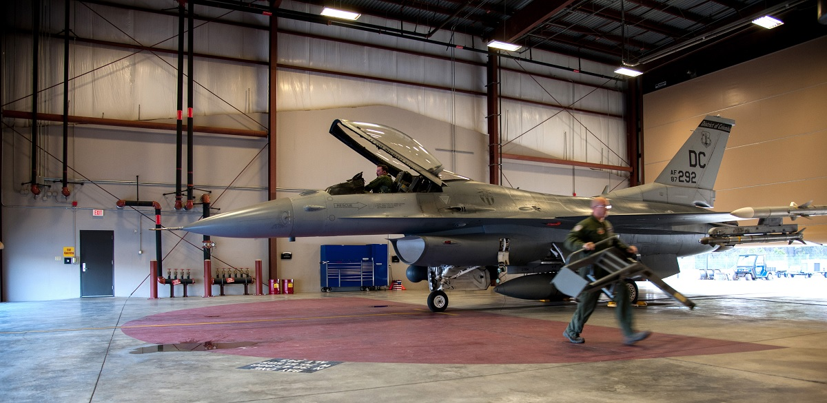 Improper assembly of main engine control caused F-16C crash at Joint Base Andrews last April