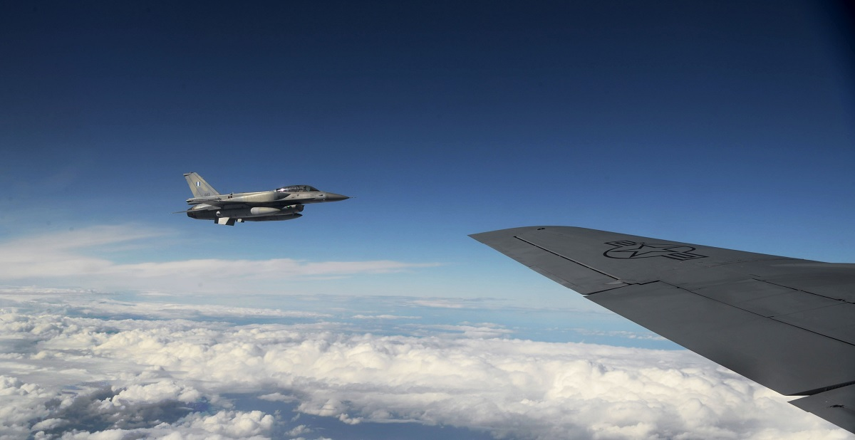 100th ARW deploys KC-135 Stratotanker to Greece for first time