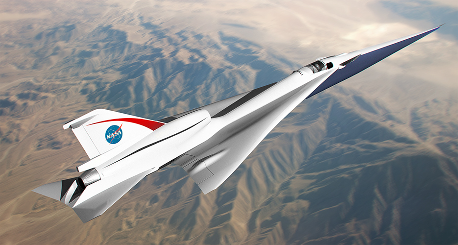 """Here's Skunk Works QueSST X-Plane, the aircraft that will turn the sonic boom into a soft """"heartbeat"""" thump"""