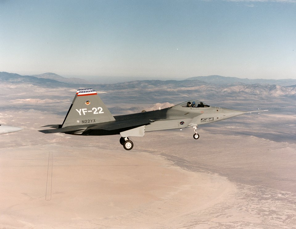 Some quick fact about the YF-22A, the Lockheed Martin's design for the ATF competition