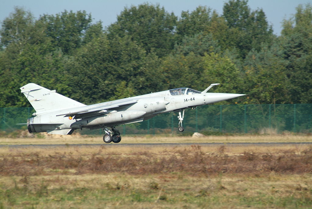 Draken buys 22 former Spanish Air Force Mirage F1 fighters