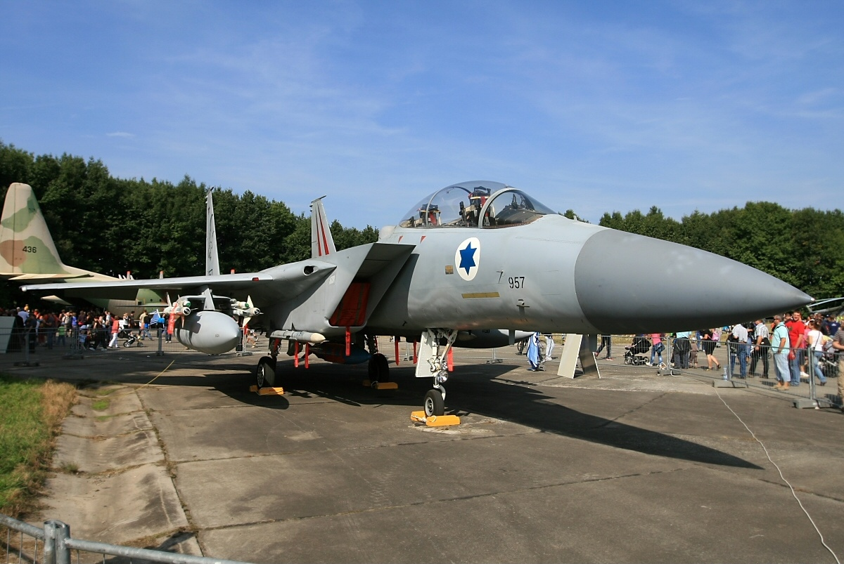 That time an Israeli Air Force F-15 Baz landed with one wing missing