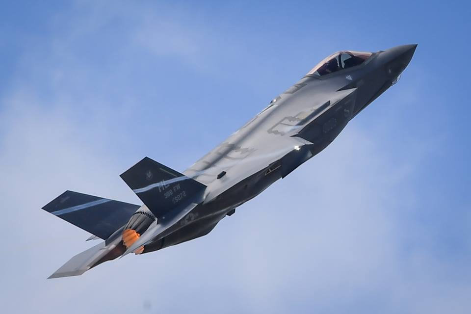 """German Air Force """"preferred choice"""" to replace its Tornado fighter bombers is the F-35 Lightning II"""