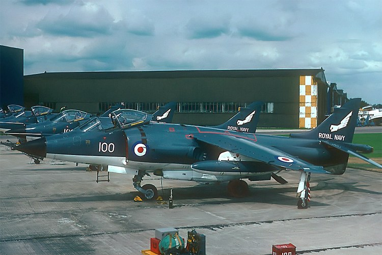 The story of a tense CAP flown by two Royal Navy Sea Harrier fighters during the Falklands War