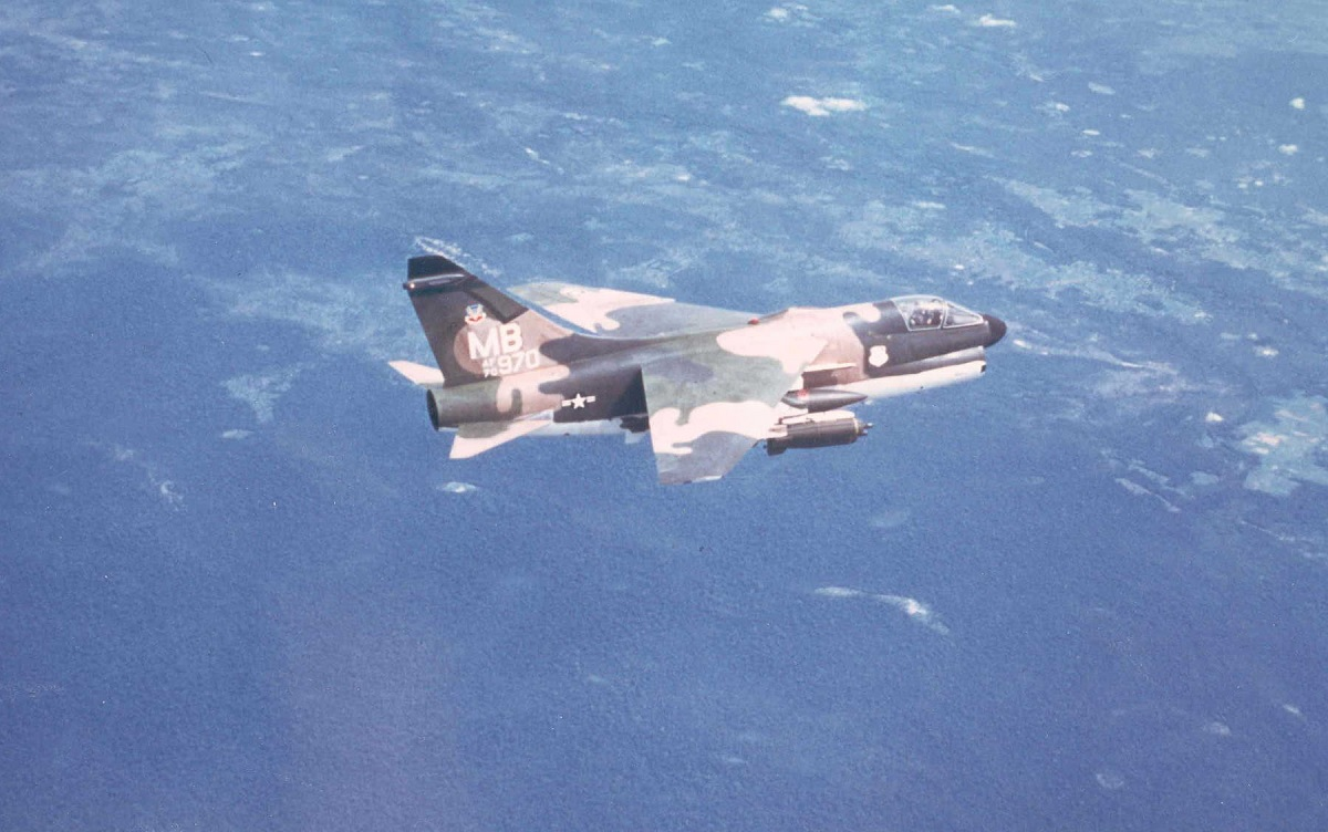 """The A-7D SLUF and the story of an incredible nine-hour-long """"Sandy"""" mission flown over North Vietnam"""