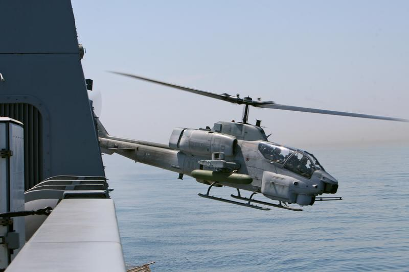 Surplus U.S. Marine Corps AH-1W Super Cobra attack helicopters up for sale