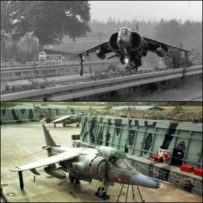 Exhilarating vintage video provides a unique insight into Harrier V/STOL operations