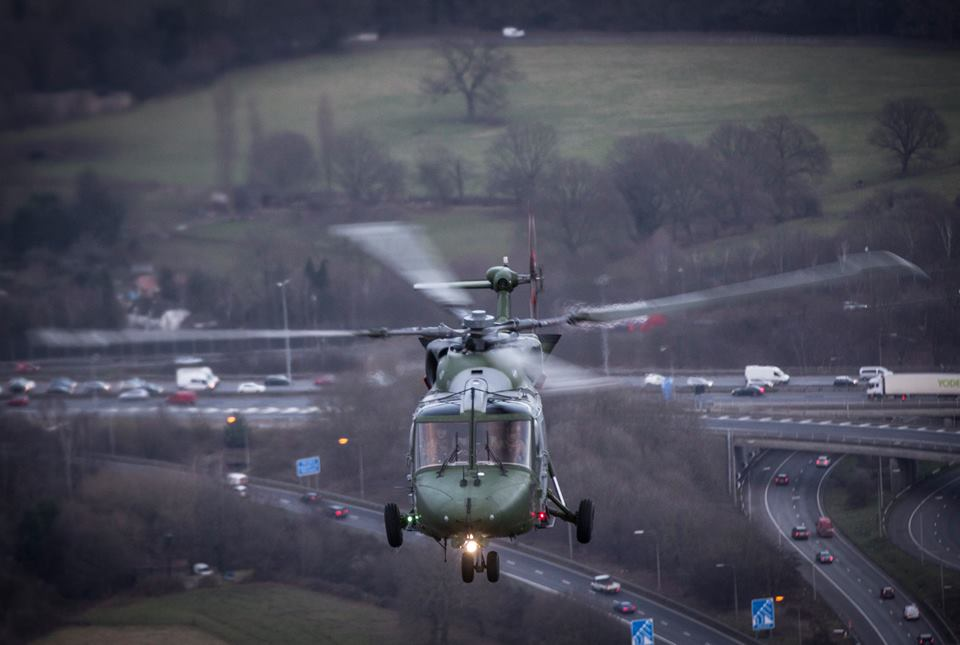 British Army bids farewell to the iconic Lynx helicopter and here are some gorgeous photos of the type farewell tour