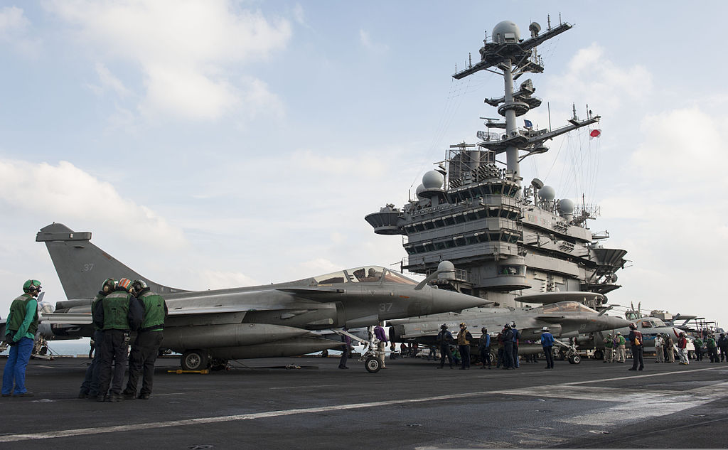 French Rafale fighters to operate from USS George H.W. Bush this spring