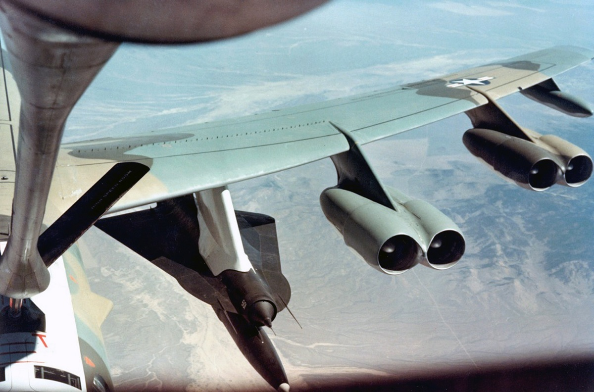 The top secret D-21, the high-speed, high-altitude spy drone air launched from the the back of a Mach 3 A-12 aircraft