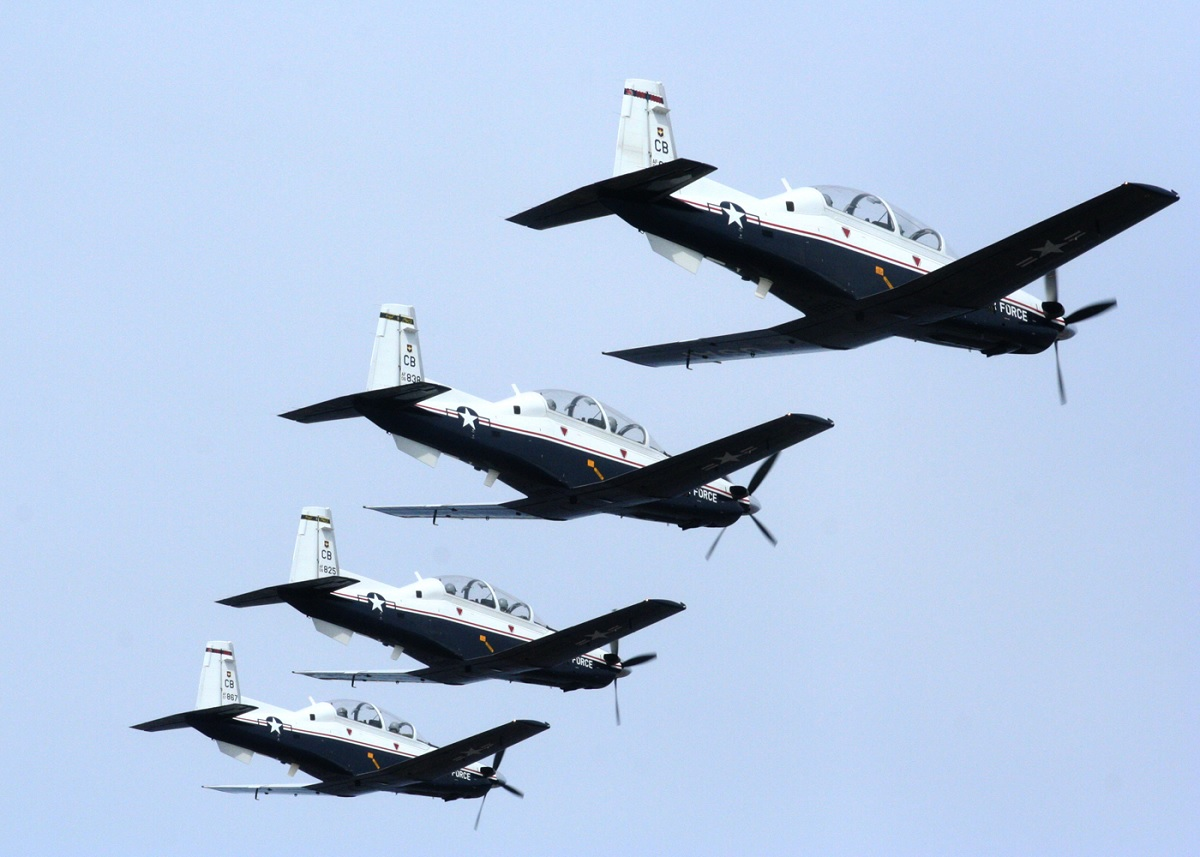 USAF T-6 pilots say their Texans' OBOGS are clogged by dirt and gunk