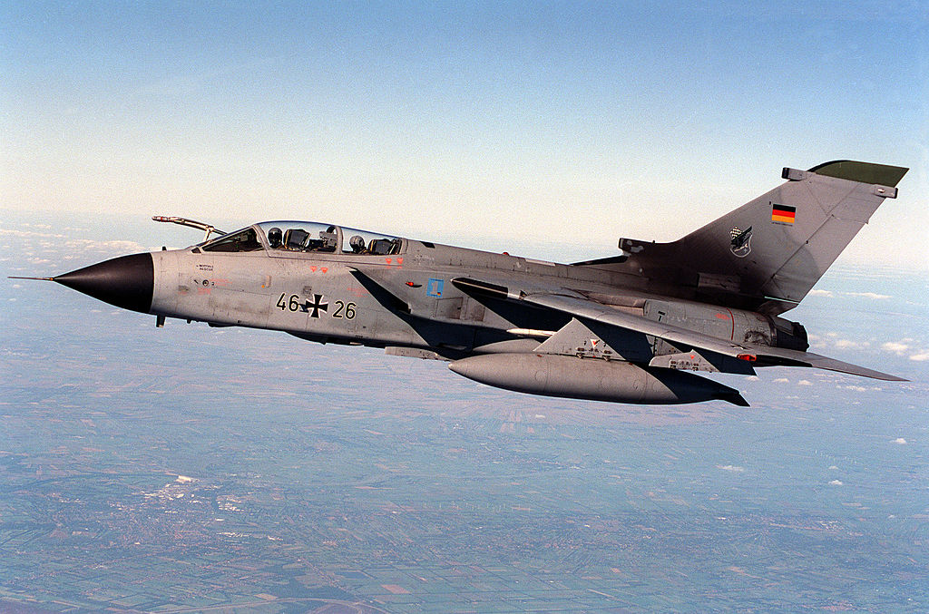 Luftwaffe Tornado fighter bombers lack updated encryption device for secure comms