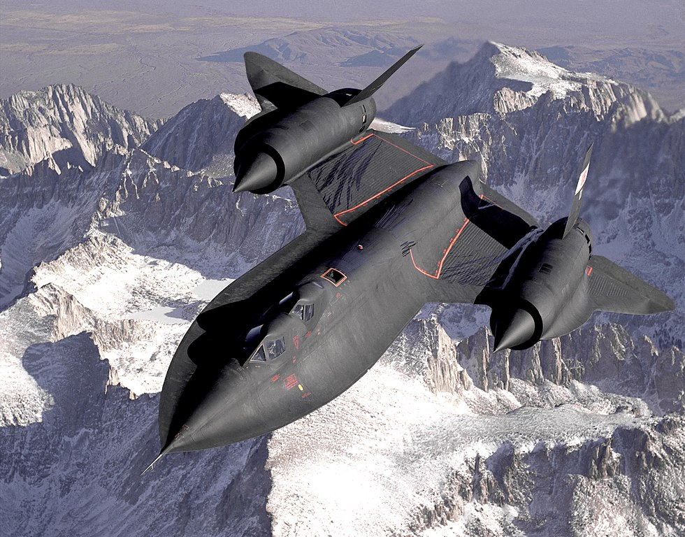 Here are the materials you should use instead of titanium to build a Blackbird Mach 3 spy plane today
