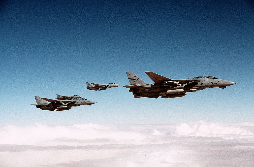 The Night US Navy F-14s and Italian F-104s Clashed Over Egyptian Boeing 737 Carrying Achille Lauro Cruise Ship Hijackers