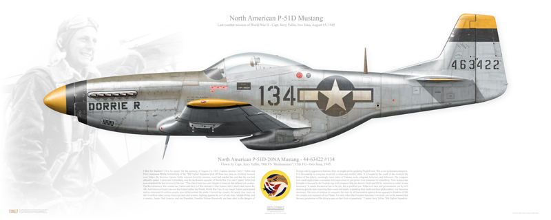 The Story of Bruce Carr, the P-51D Pilot who left on a mission flying a Mustang and RTB flying a Luftwaffe FW 190