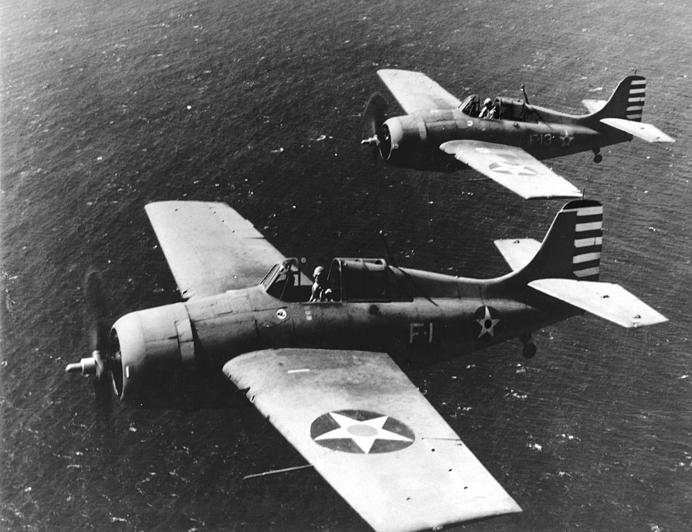 """The Dogfight that led to the birth of the """"Thach Weave"""" maneuver, the defensive counter employed during WWII by all US Navy and USMC fighter pilots when dealing with the Zero´s superior maneuverability"""