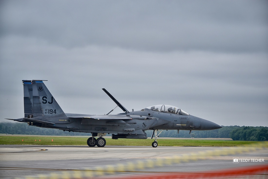 F-15E on combat mission over Middle East successfully Performed Emergency Landing with issues on both engines