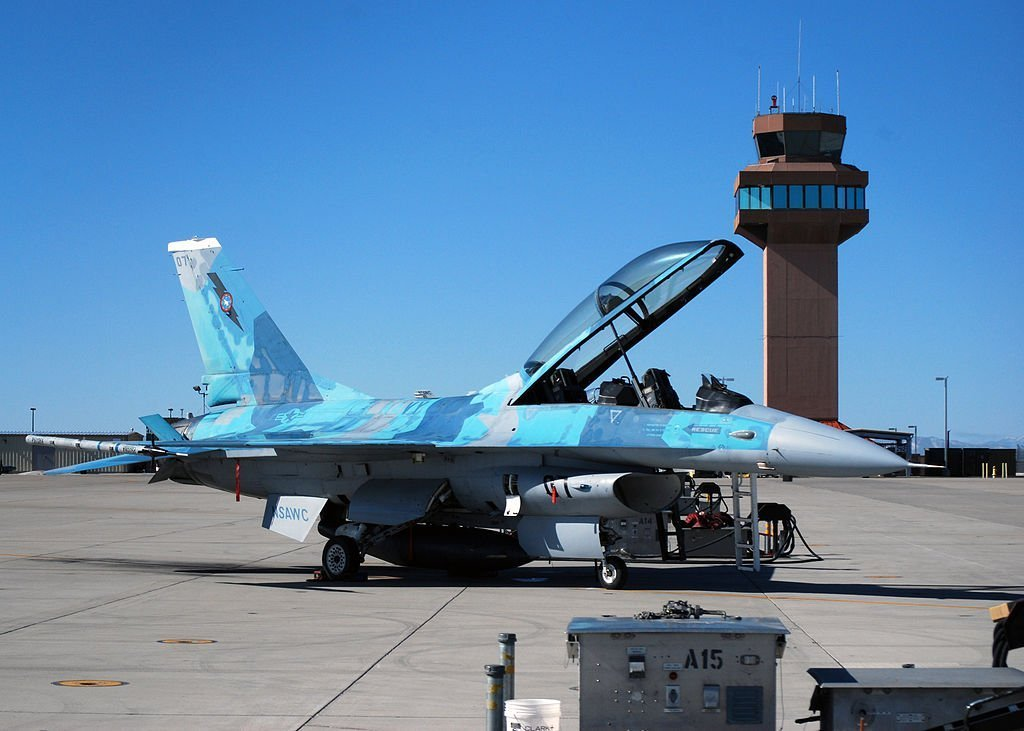 FalconUp Modification Gives US Navy F-16 Adversary Aircraft an Additional 500 Hours of Service Life