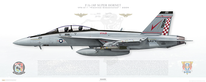 VFA-211 Fighting Checkmates to start transition from F/A-18F to F/A-18E