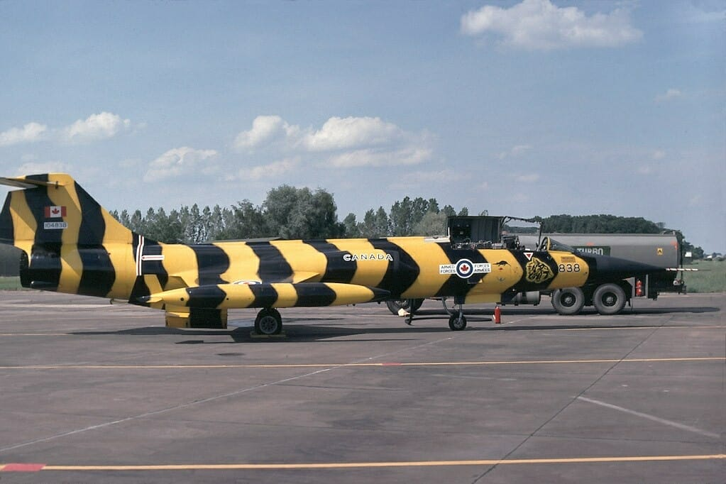That Time a CF-104 Pilot Buzzed the Tower of a Luftwaffe C-160 Air Base while Flying His Starfighter at 900 Feet per Second and Less than 100 Feet AGL