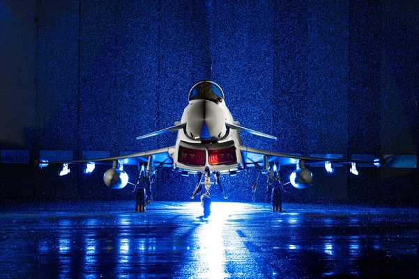 BAE Systems Delivers Final Eurofighter Typhoon to the Royal Air Force
