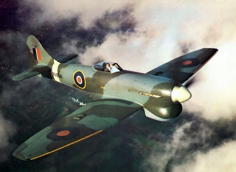 These prop WWII fighters were (slightly) better than the P-51D Mustang