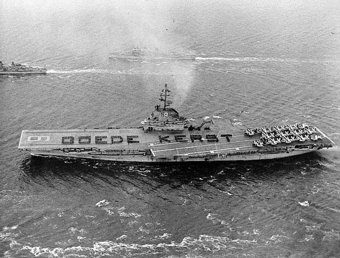 Say It With Sailors! The Tradition of the Aircraft Carrier Deck Spell-Out