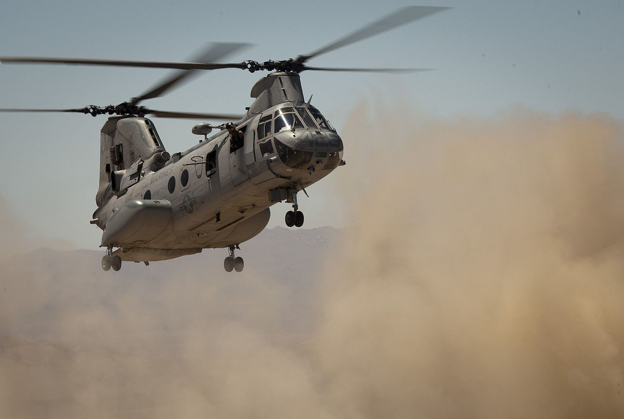 The Day a USMC CH-46 Phrog Bombed Vanderberg AFB with Plastic Ketchup and Mustard Bottles and Completed The Only Successful bombing raid on a USAF missile base in American history