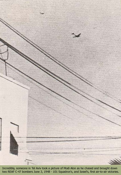 The Story of Israeli Air Force First Two Aerial Victories that Never Were