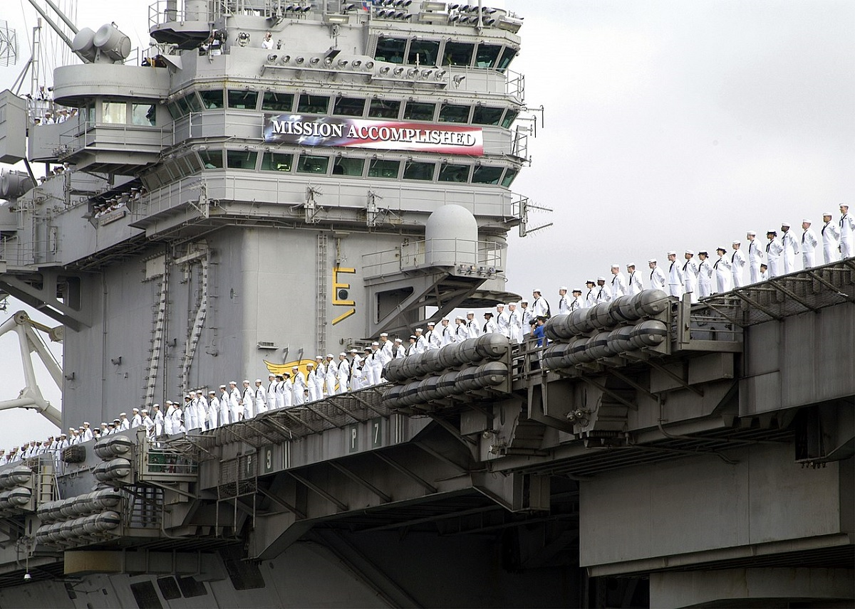 """""""Abe's"""" Extraordinary Odyssey: The Story of the Longest Deployment for an Aircraft Carrier in Post-Vietnam Military History"""