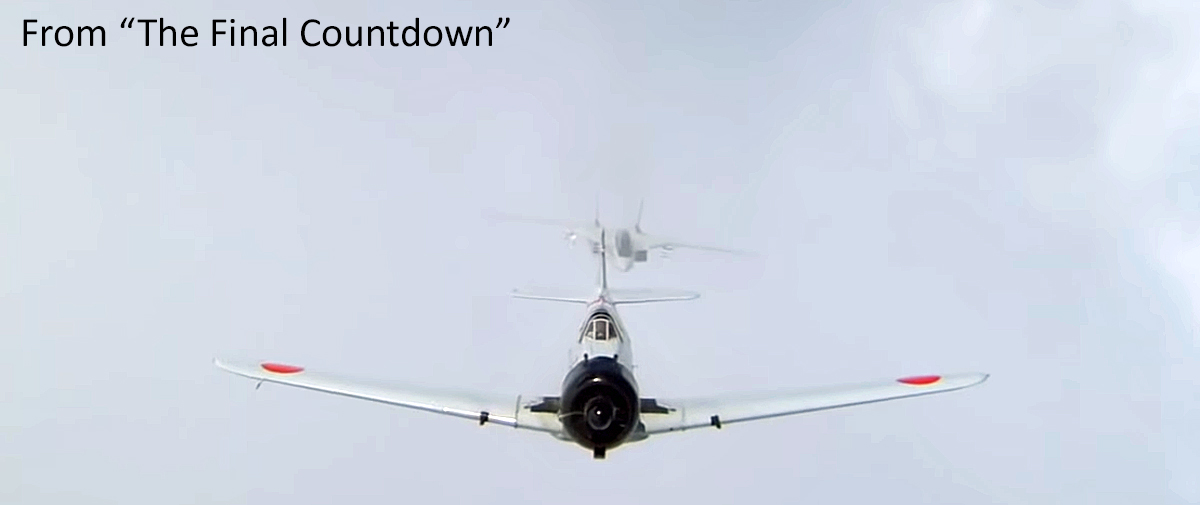 """F-14 Pilot's Unreleased Notes on Filming """"The Final Countdown"""""""